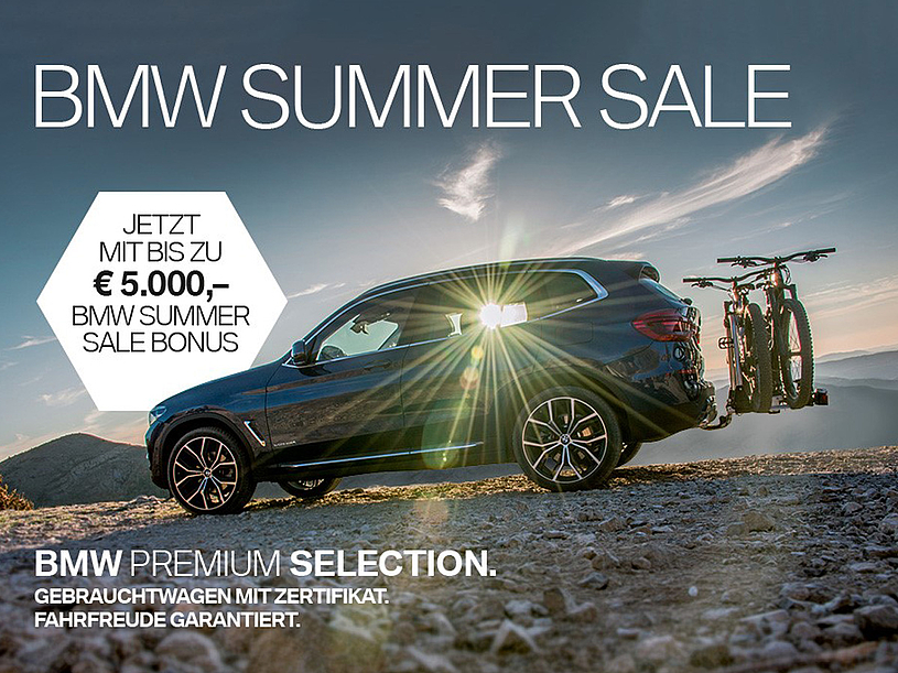 BMW Slawitscheck Summer Sale